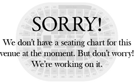 BJCC Theatre Seating Chart